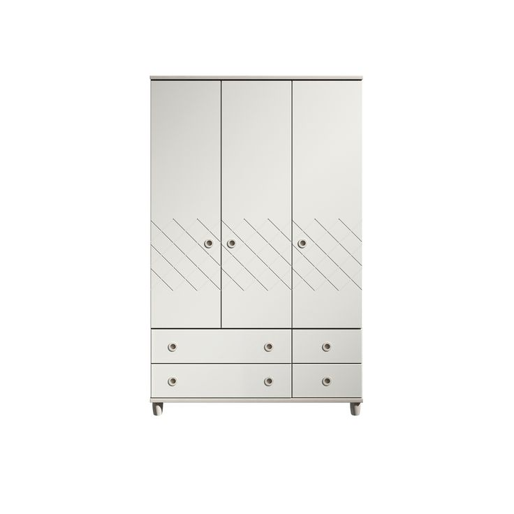 The Bria Elm Wardrobe with 3 Doors and Drawers provides great looking storage for all Bedrooms! With 3 Doors, a Hanging Rail, 2 Large and 2 handy storage Drawers. Our Bria Collection has a unique Geometric design with super matt White fronts, beautiful Elm exteriors and to top it off with inset Wooden handles. This Collection is perfect for a stand alone statement piece or subtle enough to use throughout! From our Made in Britain and Ready Assembled Bedroom & Lounge Collection, this piece is…