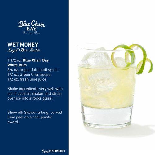 Blue Chair Bay Rum Wet Money Drink Recipe Rum Drinks