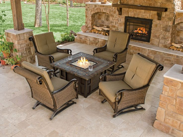 best 25+ fire pit coffee table ideas on pinterest | patio set up