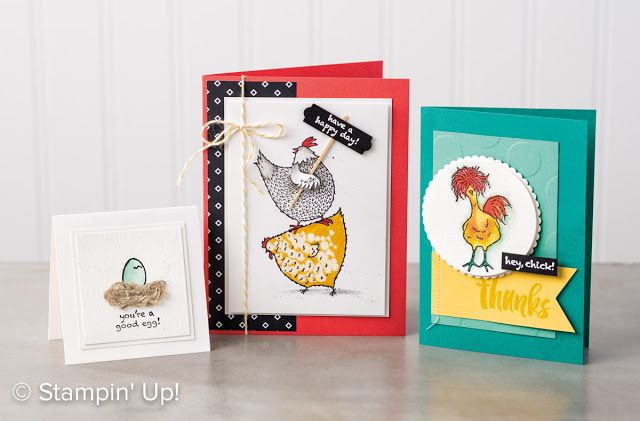 Stampin' Up! Hey, Chick will likely be a sell-out early