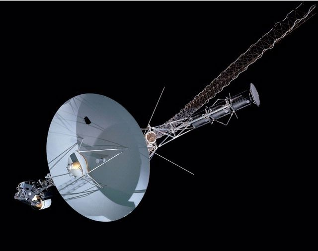 The twin Voyager spacecraft, launched in 1977, completed ...
