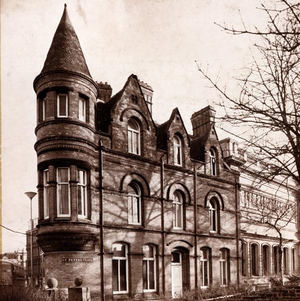 Wolverhampton Municipal School of Art and Design - the building in Wulfruna Street opened in 1885.