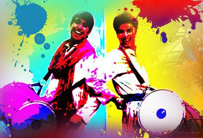 Live Music!! Dhol Bajeeereeee!!!