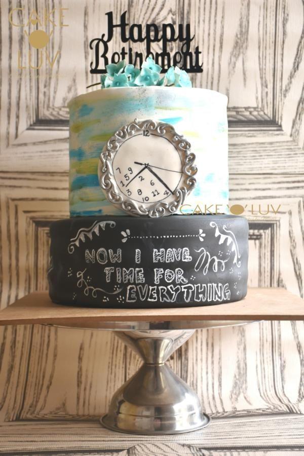 Retirement cake  by Cake O'Luv - megha