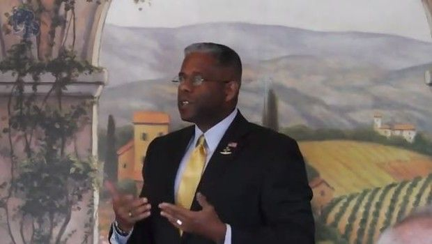 """Allen West """"The law is being changed to accommodate those who have broken the law."""" - Allen West Republic"""