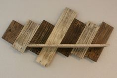 Rustic Reclaimed Pallet Shelf by MixedImages on Etsy
