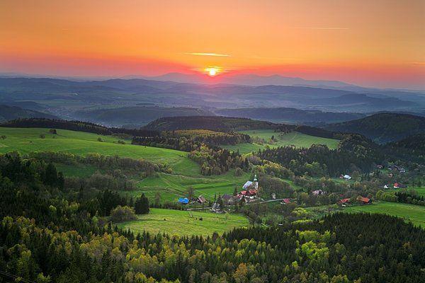 Góry  Stołowe - Polska