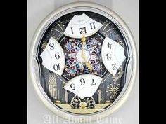 QXM239SRH - Seiko Melodies in Motion Carnival Celebration & Fireworks Animated Musical Clock - YouTube