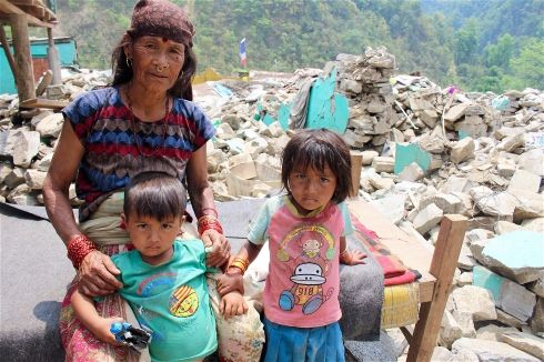 IRIN Asia | Lives at risk as Nepal earthquake funding dries up | Nepal | Natural Disasters