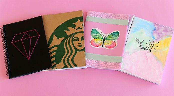 DIY Notebooks #diy #kendinyap #starbucks #youtube #video