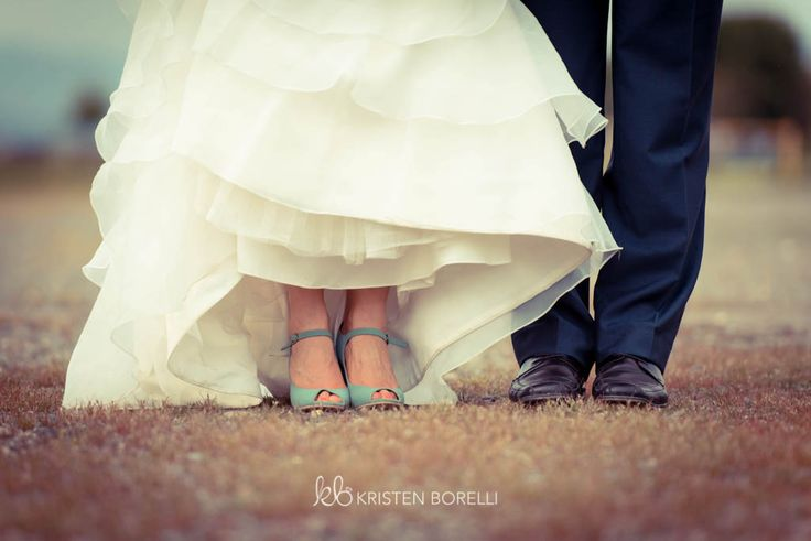 Vancouver Island Wedding Photography | Kristen Borelli Photography | Bride and groom shoes/feet