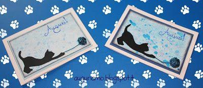 Guardate cos'ho realizzato per il compleanno di due sorelle gemelle! Spero vi piacerà! Cliccate su http://auguriamo.blogspot.it/2015/10/gattini-gemelli.html  per saperne di più!