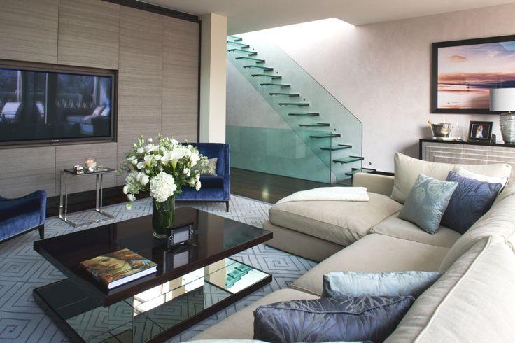 Duplex penthouse apartment, London - http://www.adelto.co.uk/luxury-duplex-penthouse-apartment-london