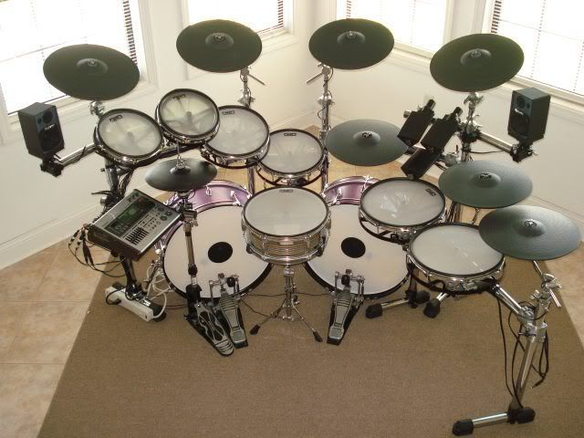 233 best cool drums sets images by blake goad on pinterest drum do it yourself discussion for building your own e drums triggers and more solutioingenieria Image collections