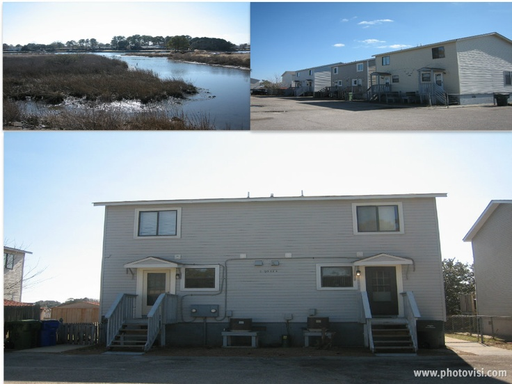 9517 17th Bay  TENANTS - PLEASE CALL FOR SHOWING APPOINTMENTS 757-587-8860 JBR RENTALS 24 HR NOTICE. FULLY ASSUMABLE LOW RATE LOAN. EXCELLENT INVESTMENT OPPORTUNITY FOR RARE WATERFRONT SIDE BY SIDE TOWNHOUSE STYLE DUPLEX W FABULOUS VIEWS OF PRETTY LAKE. LIVE IN ONE SIDE, RENT THE OTHER OR BOTH. SEPARATE UTILITIES & ALL APPLIANCES.$650 & $800 RENTS. SELLER PAYS $6000 BUYERS CLOSING COSTS. ASSUMABLE LOW RATE LOAN! $213,000  Call Judy - (757)718-9191 or Ronnie (757)328-1616  #Norfolk #Water…