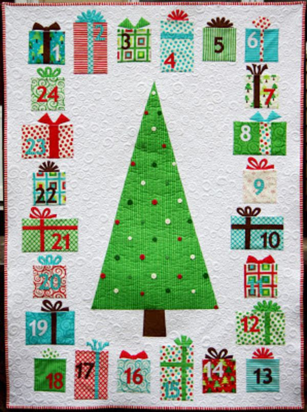 5 Free Christmas Quilt Patterns  xxxx                                                                                                                                                                                 More