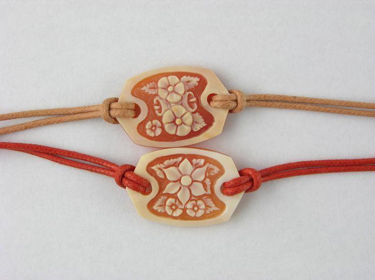 cornelian shell bracelet