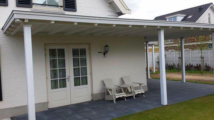 Sfeervolle wrap around veranda #porch Www.verandaservice.nl