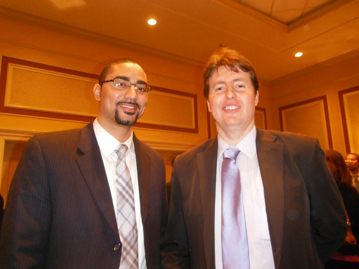 Attorney Evan Guthrie with Justin Bamberg of Hood Law Firm at the Charleston County Bar Association Annual Meeting and Reception at Francis Marion Hotel In Charleston, SC on Thursday February 28th 2013.