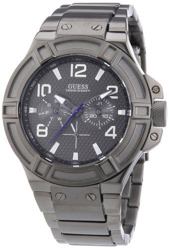 Guess W0218G1 mm Mineral Mens Watch *** For more information, visit image  link