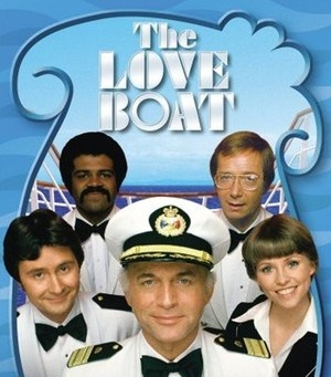 The Love Boat -TV Show (1977-1987), starring Gavin MacLeod..Captain Merrill Stubing, Bernie Kopell..Doctor Adam Bricker,Ted Lange..Bartender Isaac Washington, Fred Grandy..Yeoman-Purser Burl 'Gopher' Smith, Lauren Tewes..Cruise Director Julie McCoy &   Jill Whelan..Vicki Stubing