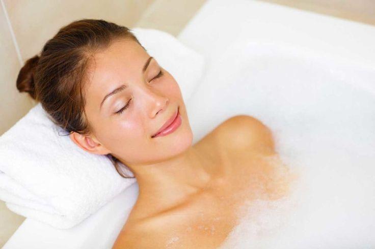 Salt bath - 9 Home Remedies for Sore Neck Muscles