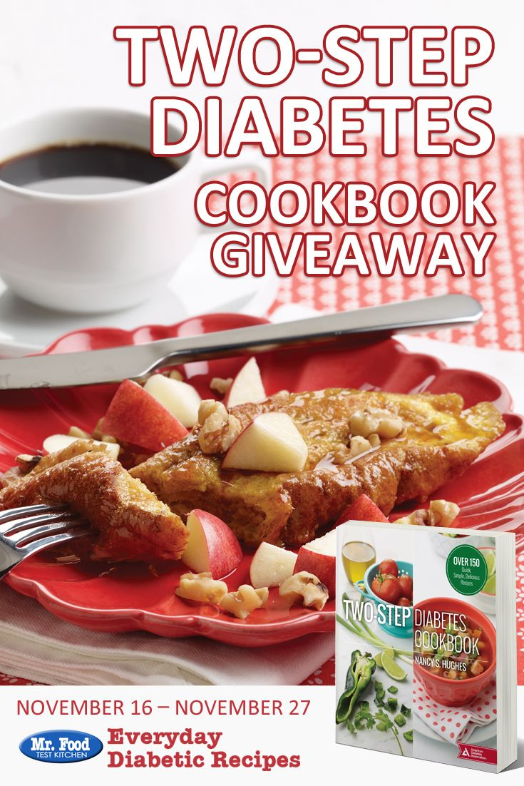 9 best free ecookbooks images on pinterest diabetic dinner recipes win a copy of the american diabetes associations two step diabetes cookbook diabetic food recipeslow forumfinder Choice Image