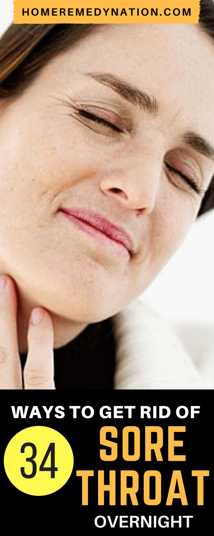 34 Natural Sore Throat Remedies to Help Soothe the Pain | Home Remedy nation