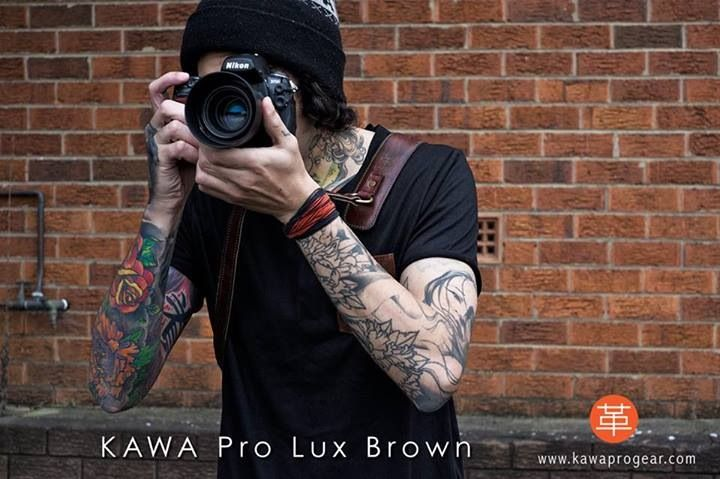 No matter how sophisticated the camera, the #photographer is still the one that makes it. KAWA Pro Strap Lux Brown leather camera strap | www.kawaprogear.com