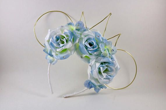 Cinderella mouse ear cinderella ears floral mouse ears