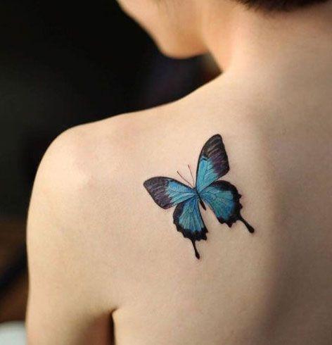 Auf der Suche nach einem neuen Tattoo? Lassen Sie sich von diesen Butterfly Tattoo Designs inspirieren