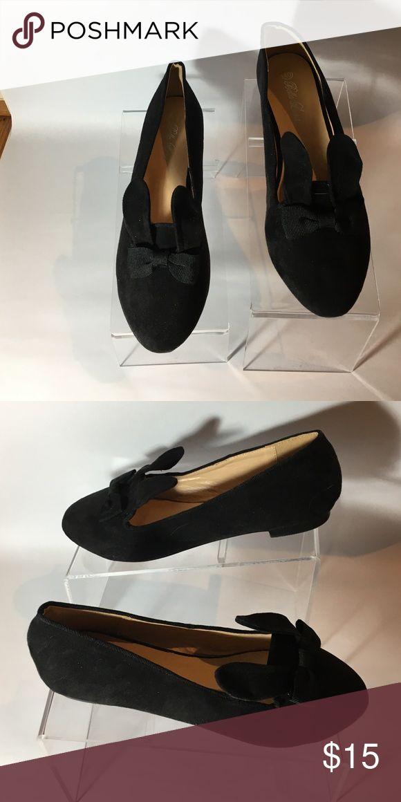 Black rabbit flats size 40 Black rabbit flats size 40 bella Luna  Shoes Flats & Loafers