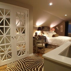 Attic Master Bedroom... Augh I really want to do something cool in our attic!!