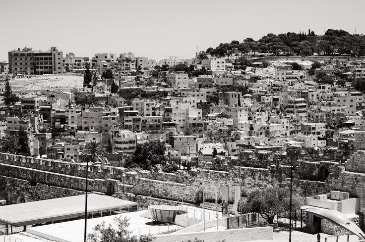 Dirk Goldbach, View from the Jewish Quarter II, Old City, Jerusalem, Israel, 2014-06-25