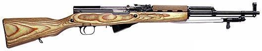 semi-automatic rifle - Simonov SKS carbine (USSR)