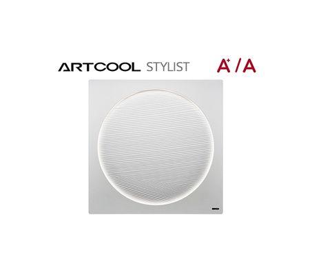 El único aire acondicionado con iluminación LED de LG.  Aire acondicionado, unidad de pared ARTCOOL STYLIST Bomba de calor inverter, A+/A Contrólalo todo: Puedes decidir entre seis tipos de características para personalizar tu ArtCool Stylist a tu gusto: La fuerza del aire, cómo se mueve, cuándo se conecta, su mantenimiento, el color de su luz LED y su brillo e intensidad.