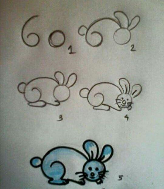 Disegno coniglio