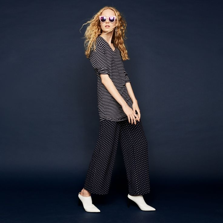 FWSS Next Life flowy white dots trousers - FWSS - Fall Winter Spring Summer - shop online