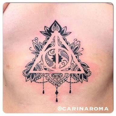 deathly hallows mandala tattoo - Google Search