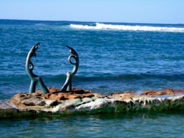 The Dancers, Shelly Beach - Australia.