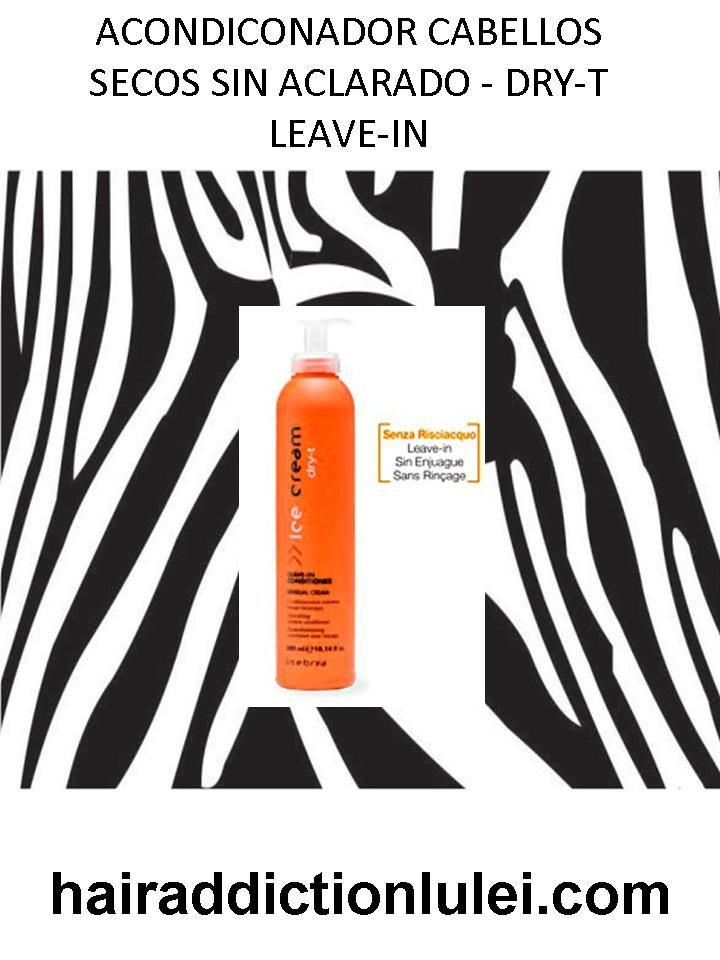 Acondicionador Nutritivo - SIN ACLARADO. http://hairaddictionluilei.com/store/LEI/es/lei/191-acondiconador-cabellos-secos-sin-aclarado-dry-t-leave-in.html