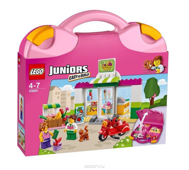 Купить lego juniors конструктор чемоданчик супермаркет - детские товары LEGO в интернет-магазине OZON.ru, цена lego juniors конструктор чемоданчик супермаркет.
