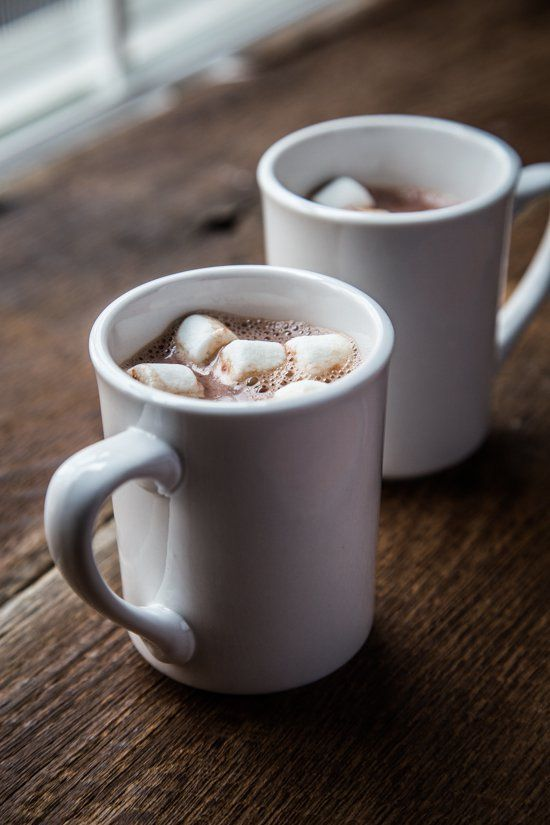 Pin for Later: 13 Hot Cocktails That'll Give You the Warm Fuzzies Marshmallow Vodka Hot Chocolate Get the recipe: marshmallow vodka hot chocolate