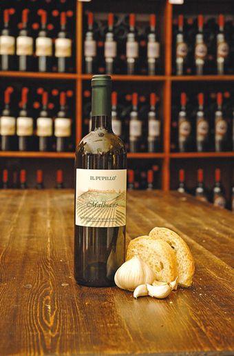 Malbiano- #wine #wino #light dinner #fish #pasta #rice