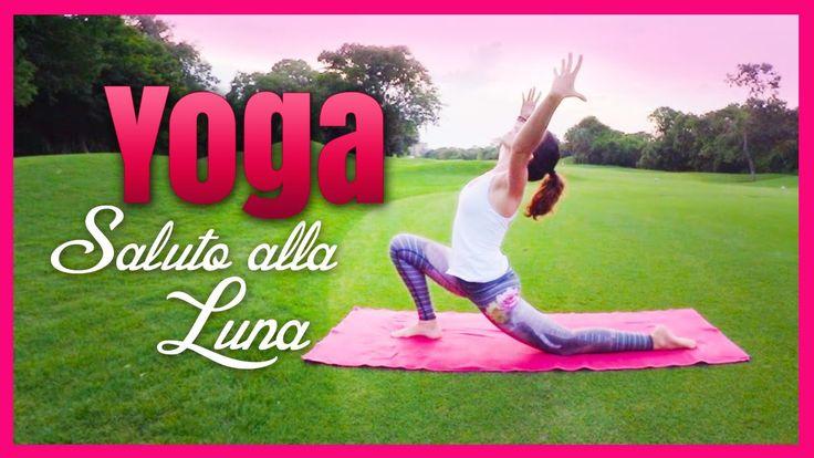 Saluta alla Luna Chandra Namaskar #Yoga #Vinyasa