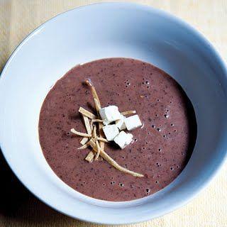 Sopa de Frijol (Black Bean Soup)