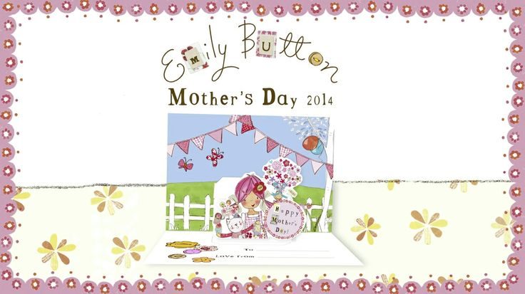 Put a smile on your mummy's face and make her a Mother's Day card with the help of Emily Button, Mousey and Bobble.