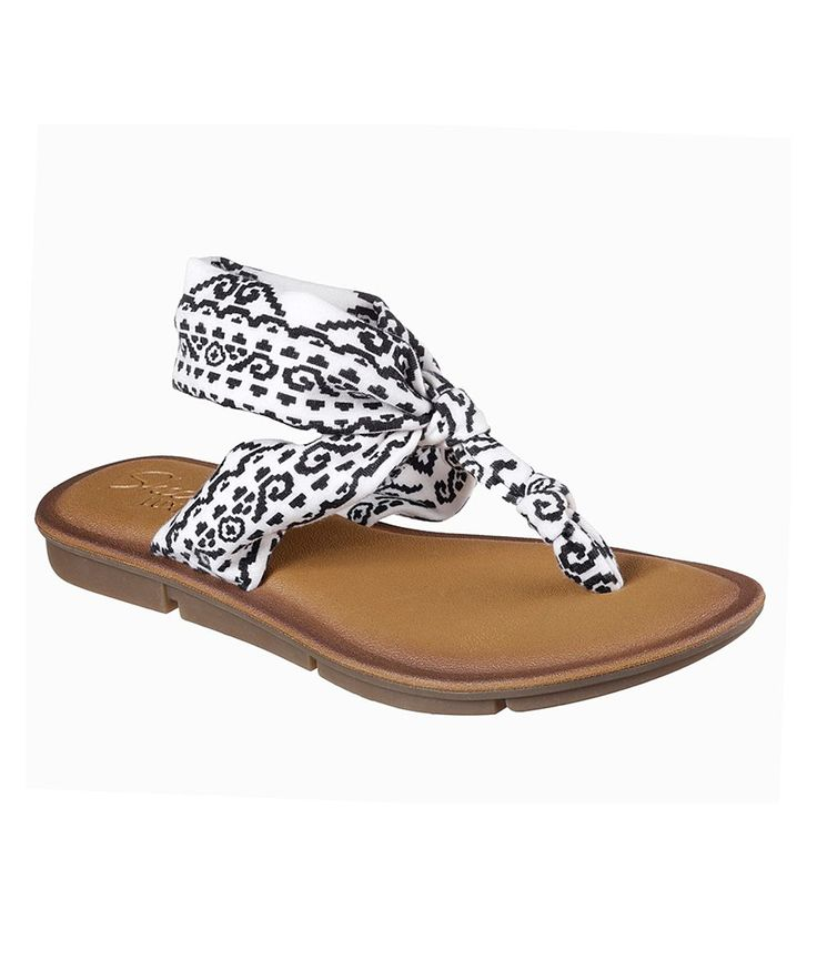 White & Black Indulge 2 Urban Safari Sandal