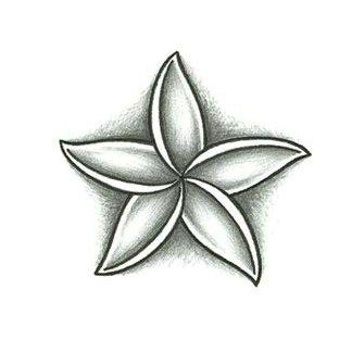 Jasmine Flower Tattoo Design