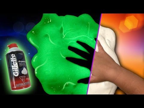 16 best fluffy slime images on pinterest diy slime fluffy slime how to make fluffy slime that glows in the dark all you need is elmers pva glue shaving cream glow in the dark paint and contact lens solution ccuart Choice Image
